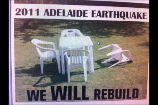 2011 adelaide earthquake