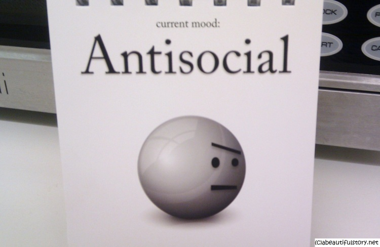 antisocial emoticon