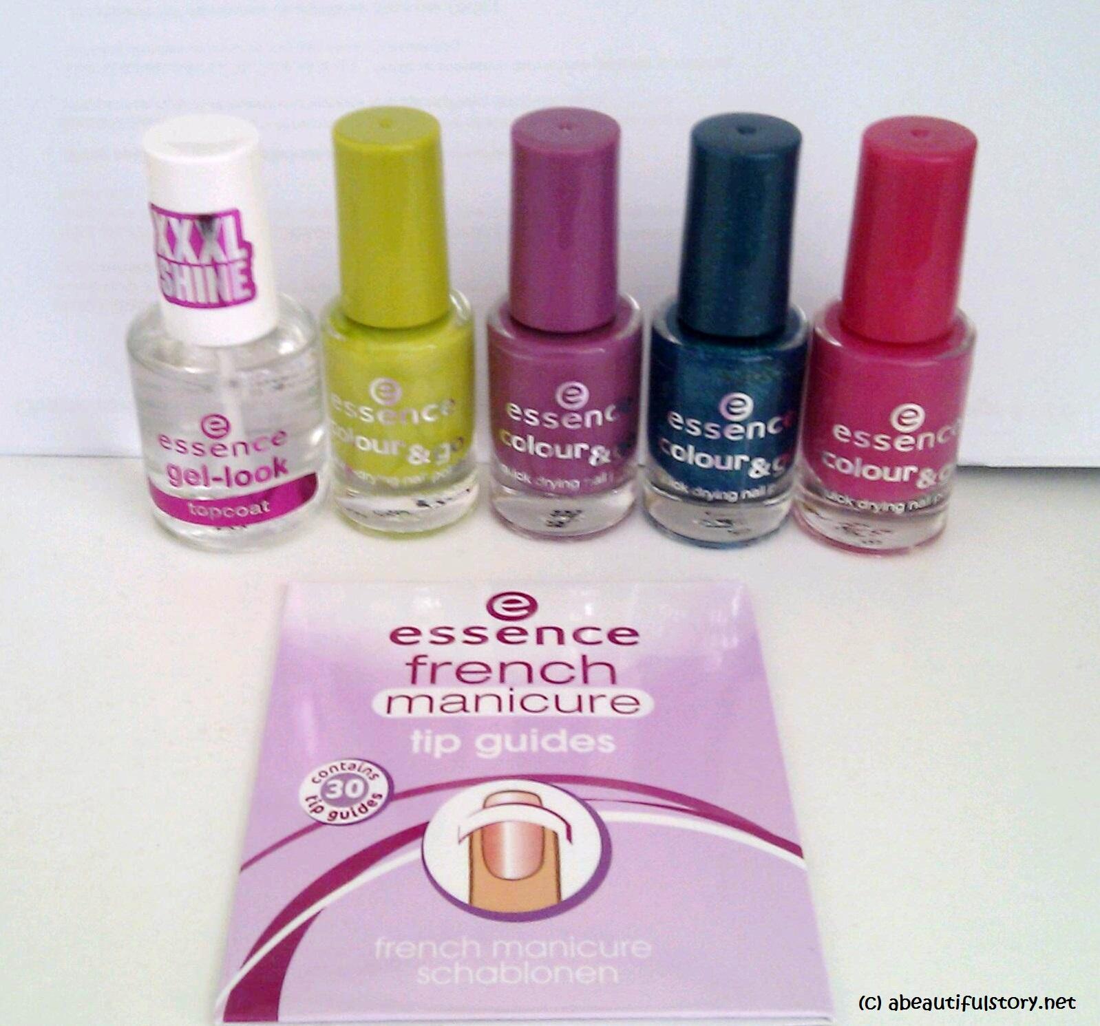 mini haul: essence colour & go nail polish, gel-look top coat ...