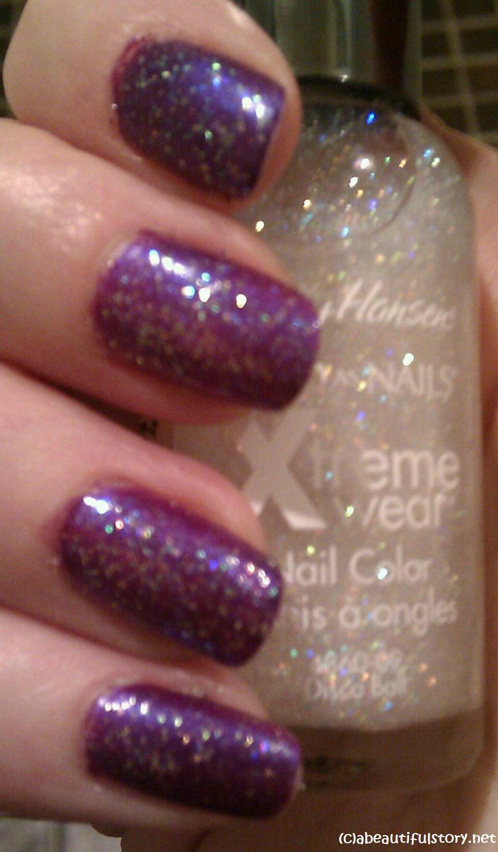 sally hansen hard as nails xtreme wear nail color | a beautiful story
